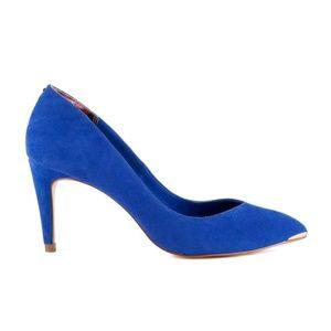 af61463854a Ted Baker - Blue Suede Monirra Pumps Size 38